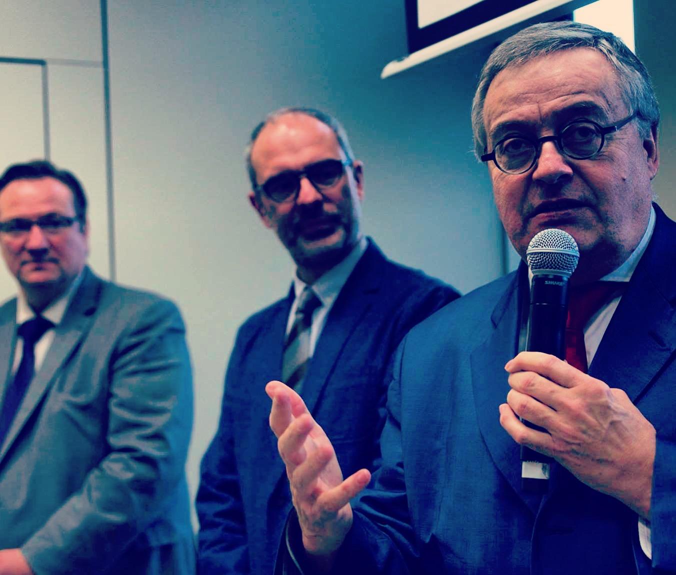 Est Ensemble : décloisonner l'approche des projets urbains et économiques (Gérard Cosme, Stéphane de Paoli, Gaylord le Chequer,Nathalie Berlu, Ali Zahi, Martine Legrand..) – 13 décembre 2017
